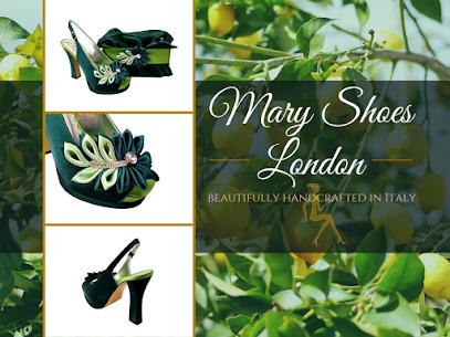 Emerald and lemon wedding shoes and matching bag set