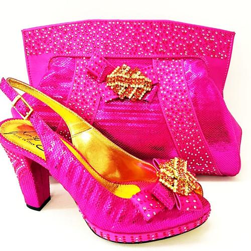 a62e0c7a6183f6 salgati purple laser cut sandals and matching bag set factory ...