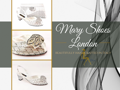 Low heel silver wedding shoes, Chiara @maryshoeslondon