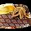 Thumbnail: Chiara, brown stone adorned low heel wedding shoes and bag