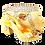Thumbnail: Sharon, Salgati gold mid-height platform shoes and bag set