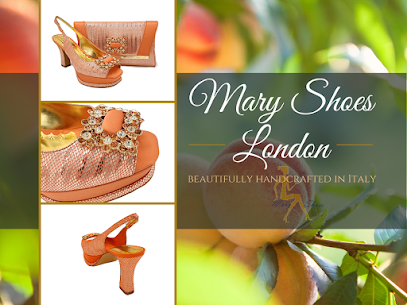 Peach Handmade Leather Shoes and Matching Bag @MaryShoesLondon