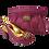 Thumbnail: Sharon, Salgati emerald low heel wedding shoes and matching bag set