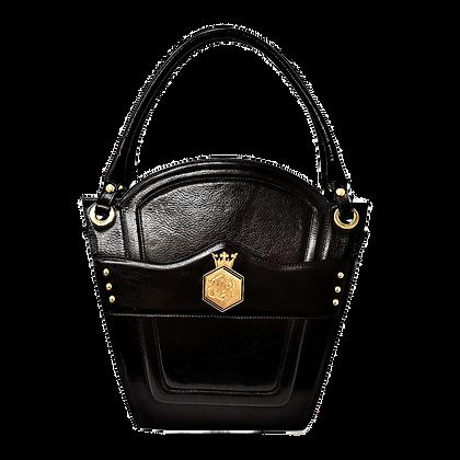 Cerruti 'Crown' black limited edition handbag