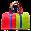 Thumbnail: Cerruti black handbag