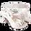 Thumbnail: Sharon, Salgati silver mid-height platform shoes and bag set