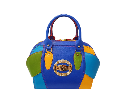 Liberty, Cerruti multicolour leather tote handbag