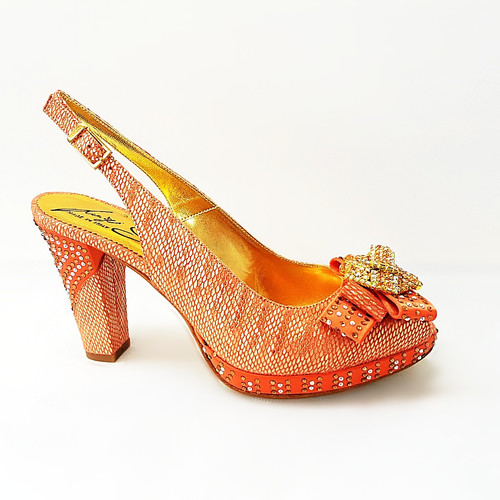 711433f454e193 salgati red laser cut sandals and matching bag set detailed pictures ...