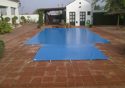 Cobertor cubierta piscina