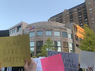 Like A Local: Lexington Black Lives Matter Peaceful Protest