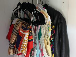 Appreciating my grandma's closet