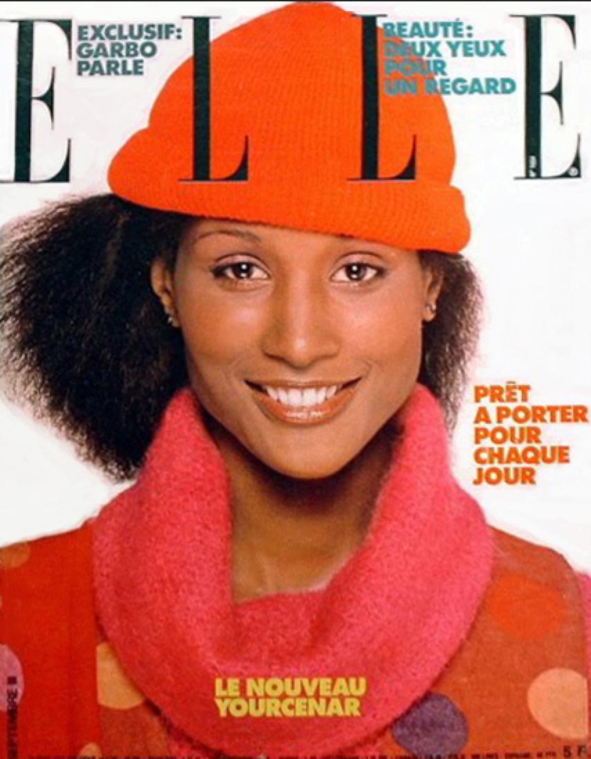 Beverly Johnson on the cover of Elle France, September 1977