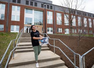 Students leave dorms ahead of spring break, two weeks of online classes