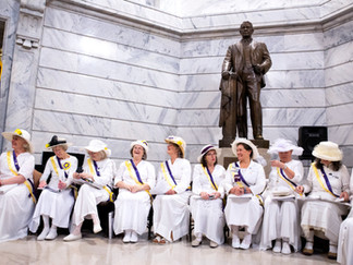 A century later, still singing for suffrage