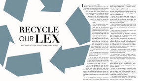 Recycle our Lex