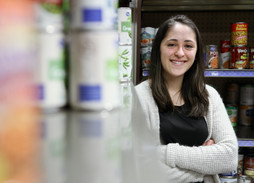 Izzy Thomas: From food insecure to fighting food insecurity at UK