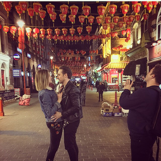 FILMING NIGHTCALL- CHINA TOWN LONDON