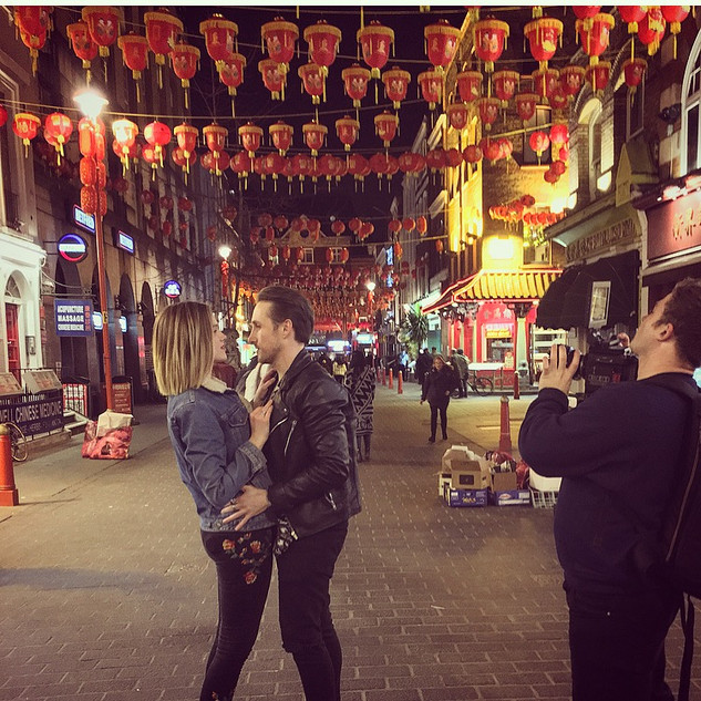 FILMING NIGHTCALL- CHINA TOWN LONDON