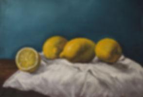 Painting of Lemons