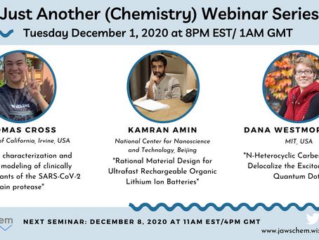 December 1, 2020 Webinar Speakers
