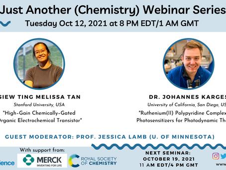 October 12th, 2021 Webinar Speakers