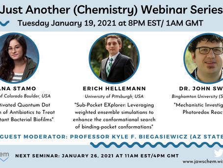 January 19, 2021 Webinar Speakers