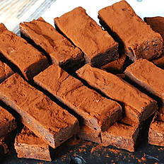Chocolate Truffle Brownie Tray