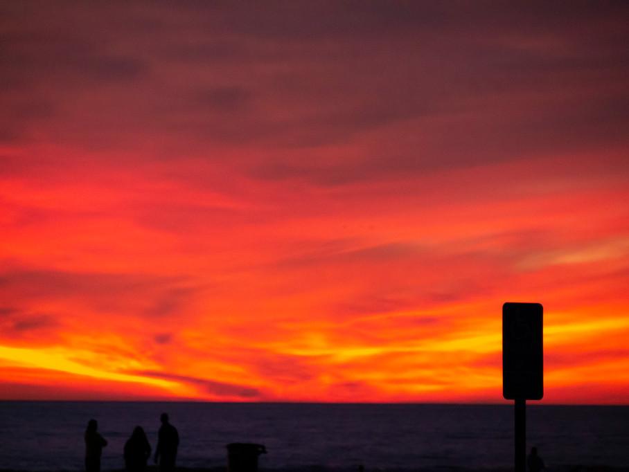 "Venice Beach Sunset - from ""Beach Party USA"" 2018"