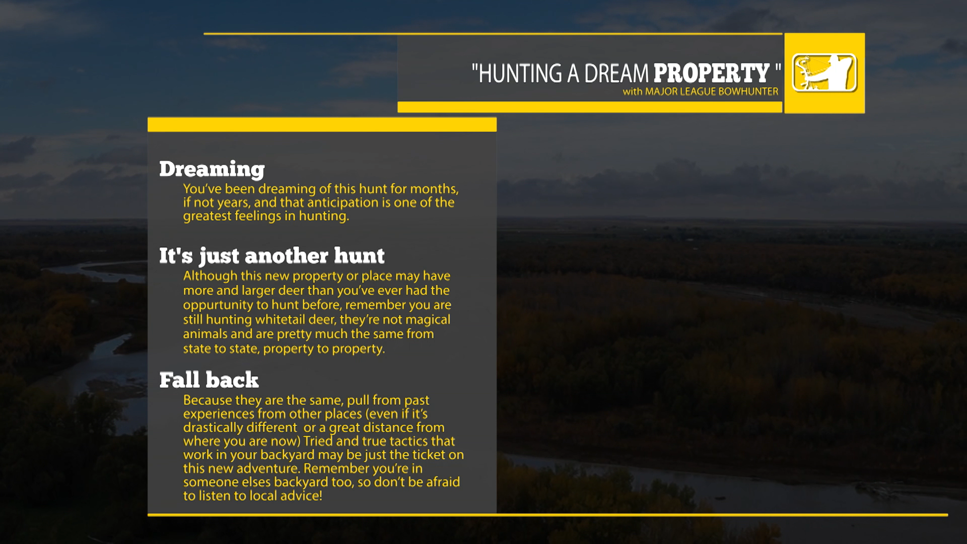 HUNTING DREAM PROPERTY