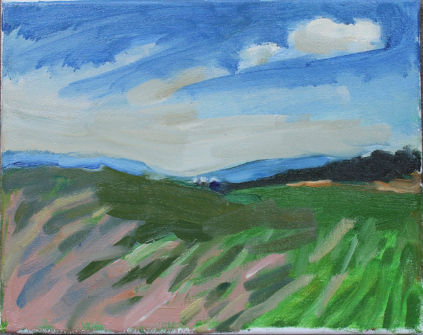 "Oil on canvas, 2019, 8x10"""