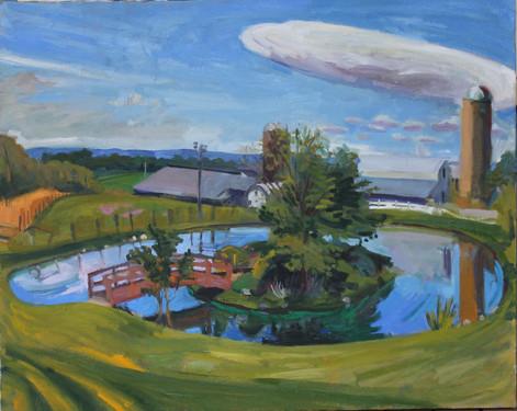 "Oil on canvas, 2019, 32x40"""