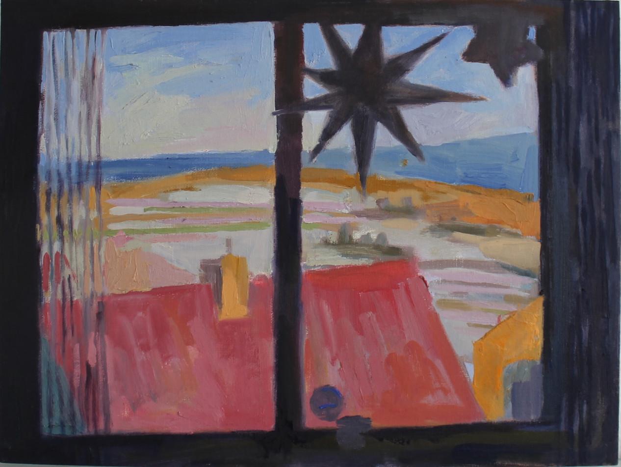Northeim Window View with Star