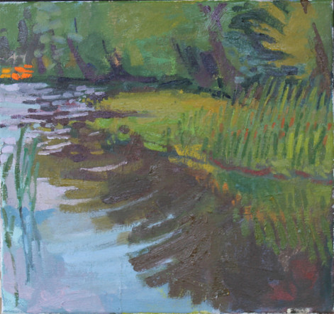 "Oil on canvas, 2019, 14x15"""
