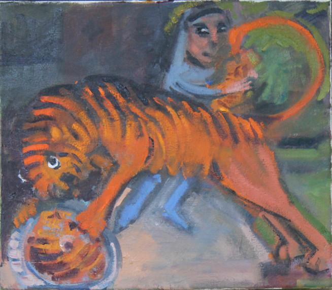 Capturing a Tiger Cub