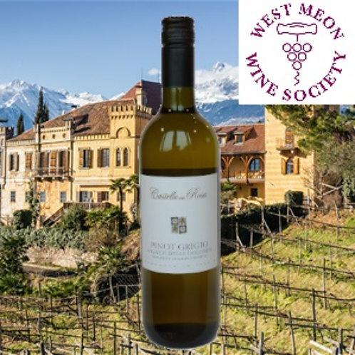 Castello della Rosa Pinot Grigio IGP Vigneti delle Dolomiti 2018