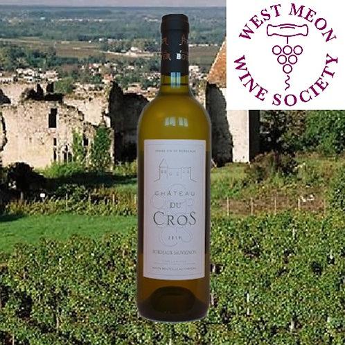 Chateau du Cros Sauvignon Bordeaux AC, Famille Boyer 2019
