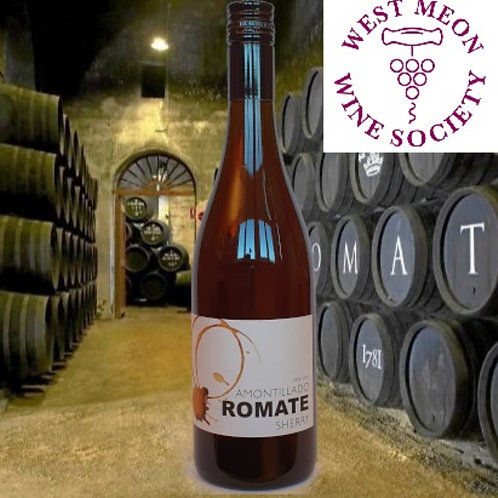 Sanchez Romate (Medium Dry) Amontillado Sherry, Jerez