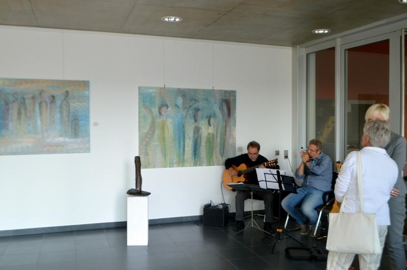 Kunst und Musik im Loft