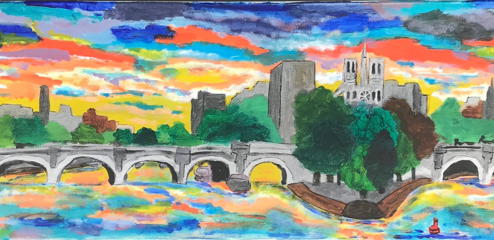 View on the Seine