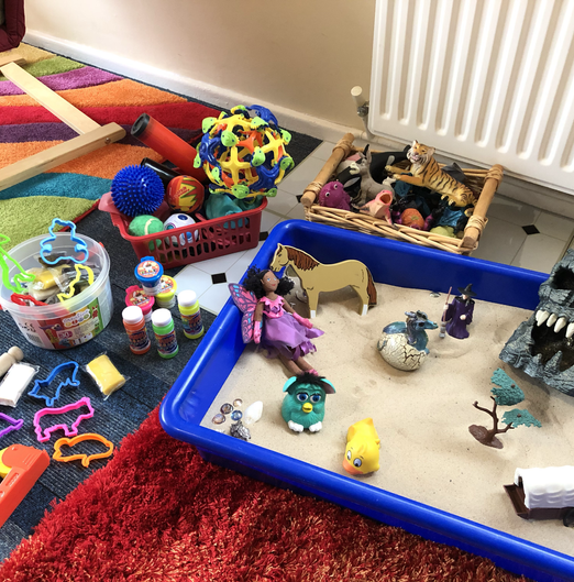 Sand tray resources