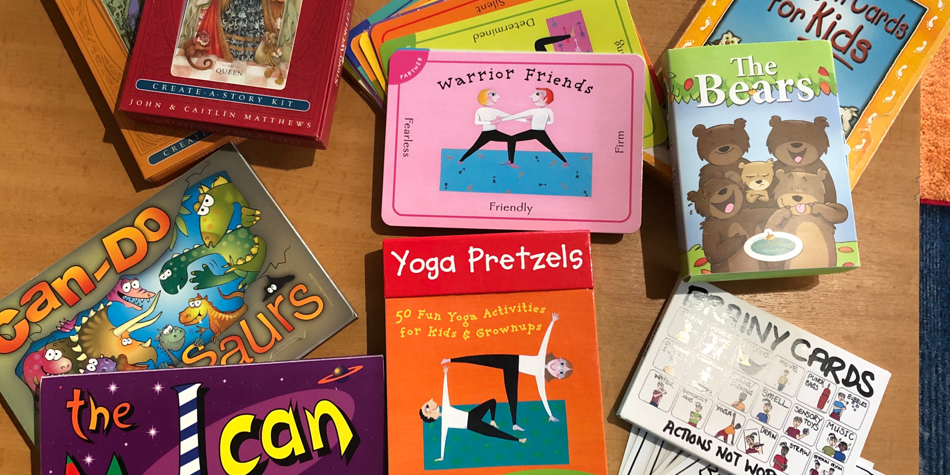 Therapeutic books and cards