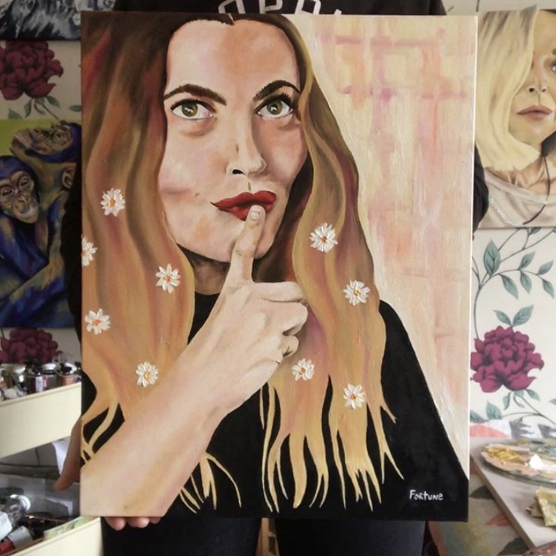Drew Barrymore Portrait // 2019