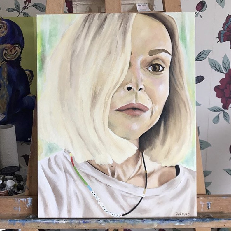 Fearne Cotton Portrait // 2019