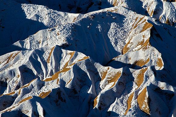 Volkan tozu ve kar