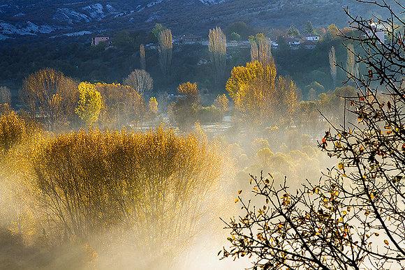 Sisteki köy manzarası