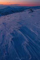 Bozkırda kış günbatımı No.3 - 2021