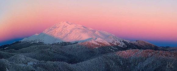 Ilgaz Dağları ve kış manzarası