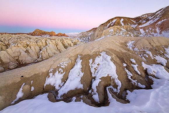 Kış spektrumunda Kapadokya