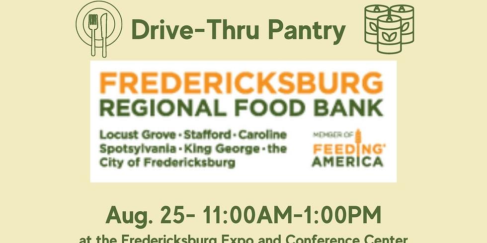 Fredericksburg Regional Food Bank: Drive-Thru Pantry