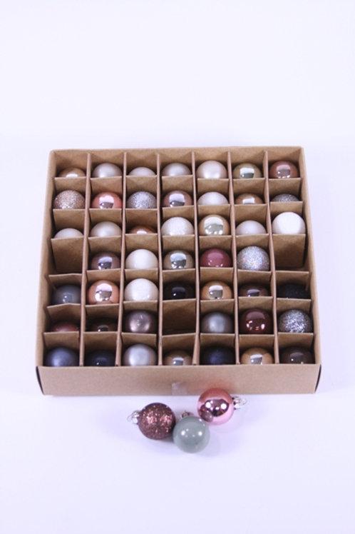 Festive Glow Mini Ornament Set